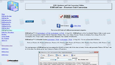 ESBUnitConv, Currency / Unit Converters