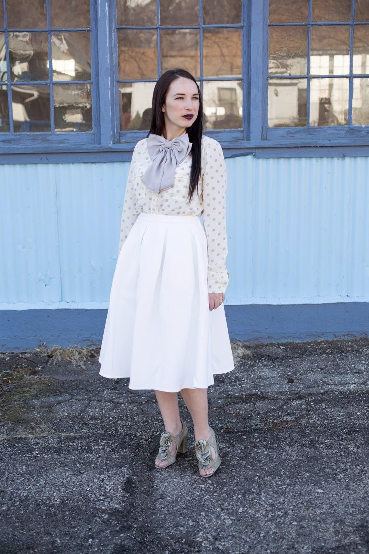 bowtie and polka dots | kelseybang.com
