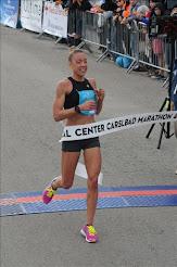 Jill WINNING Carlsbad Marathon 2017!