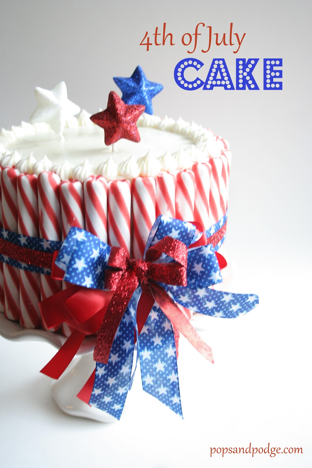 the 4th of july cake