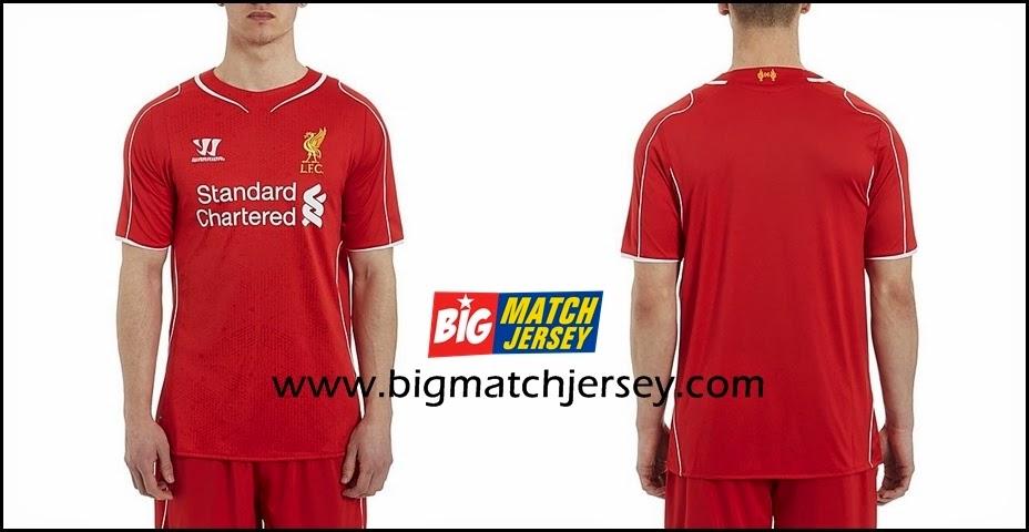 Warrior Liverpool Home Shirt 2014 2015