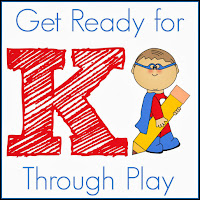Getting ready for Kindergarten through Play