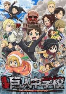 Shingeki! Kyojin Chuugakkou 09 Subtitle Indonesia