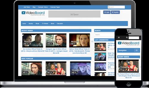 Theme turns WordPress blog into a video site ~ GizmoEditor.com