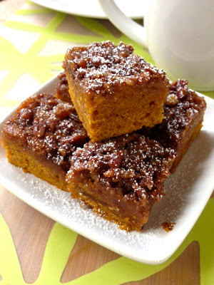 Vegan Pumpkin Tea Cake