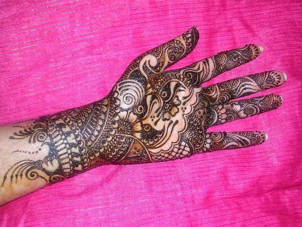 Muslim Mehndi Patterns : Free indian muslim girls heena mehndi paterns xm
