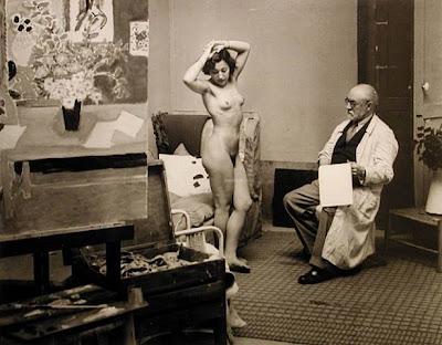Brassai - Matisse et son modèle.