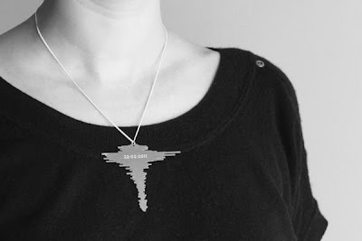 Aroha Silhouettes Christchurch Earthquake 6.3 Necklace