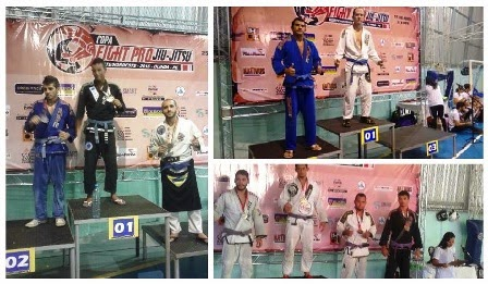Atletas limoeirenses recebem apoio da Prefeitura em Copa de Jiu Jitsu