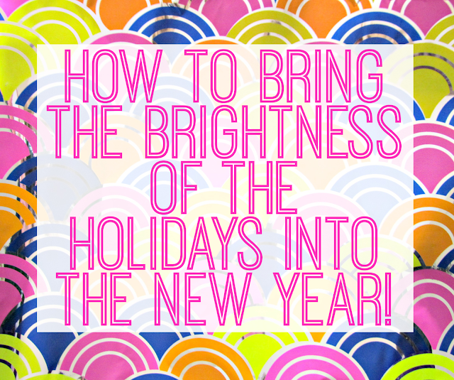 How to decorate with bright colors for the New Year!