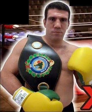 George Arias (Arias) Campeão Brasileiro de Boxe Peso Pesado pelo CNB / 2014
