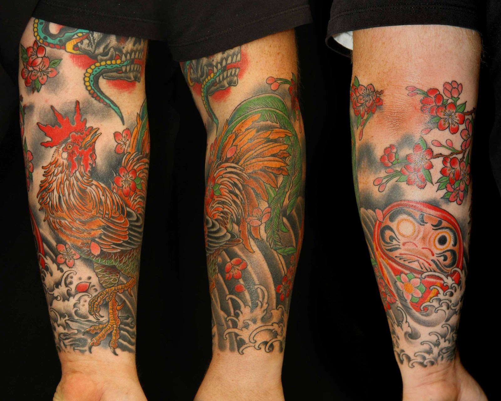 rise above tattoo some new work by scott lukacs. Black Bedroom Furniture Sets. Home Design Ideas