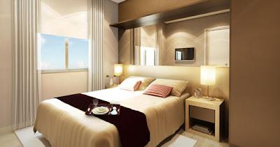habitación en color tierra