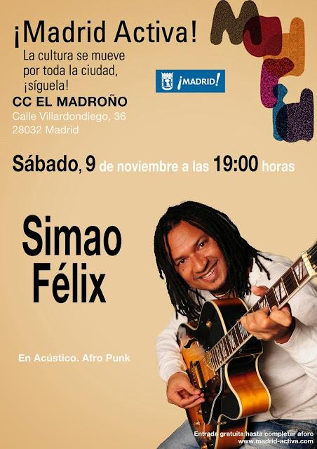 Simao Felix, sábado 9 nov El Madroño Vicálvaro