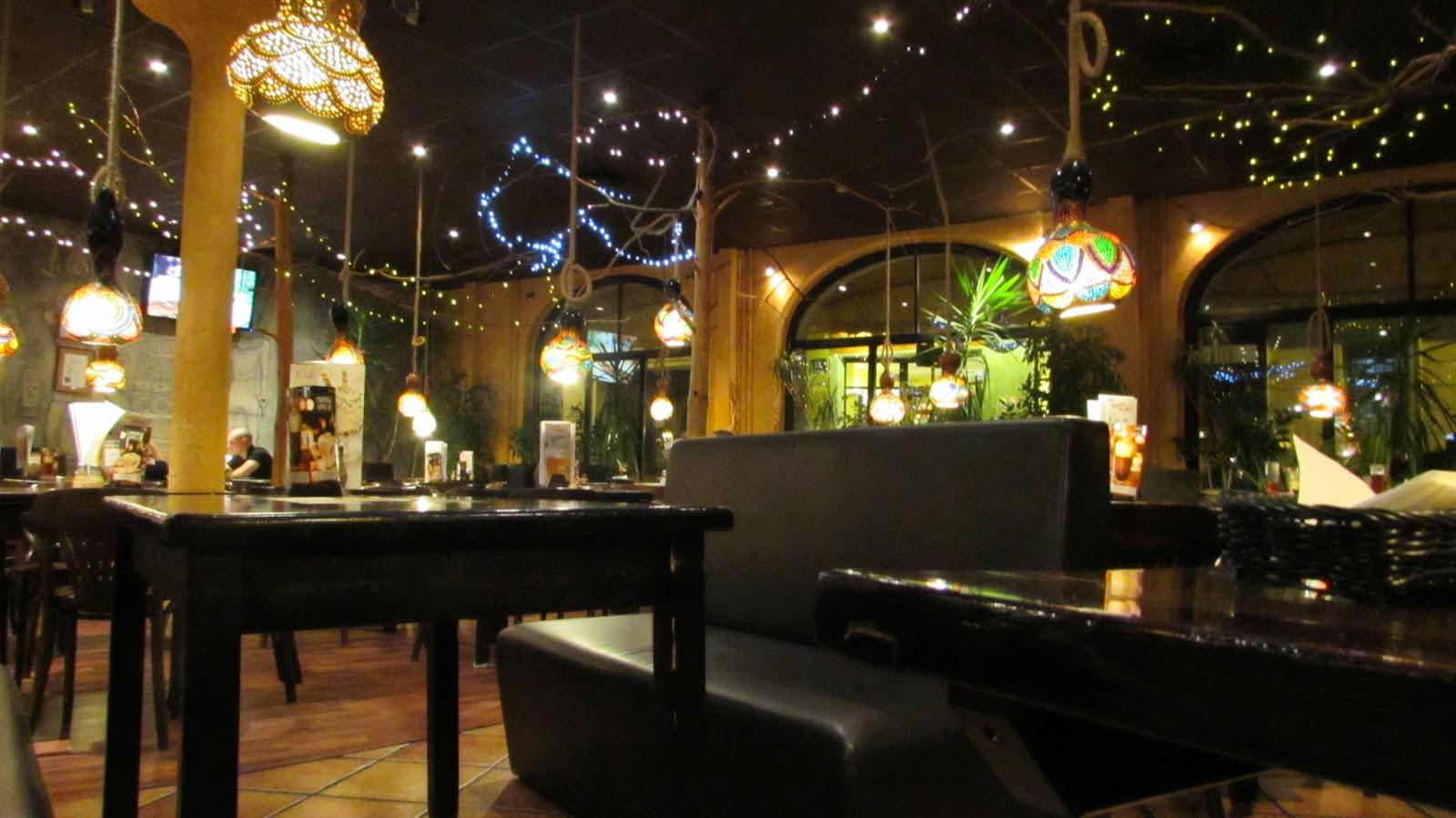 wnętrze restauracji Sphinx