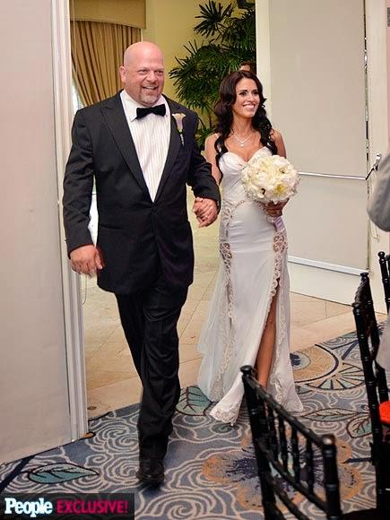 Red Carpet Wedding  Deanna Burditt and Rick HarrisonKim And Rick Harrison