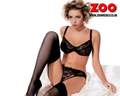 Retro Bikini: Keeley Hazell Graces The Cover Of Zoo ...