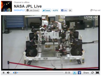 Jet Propulsion Laboratory on UStream