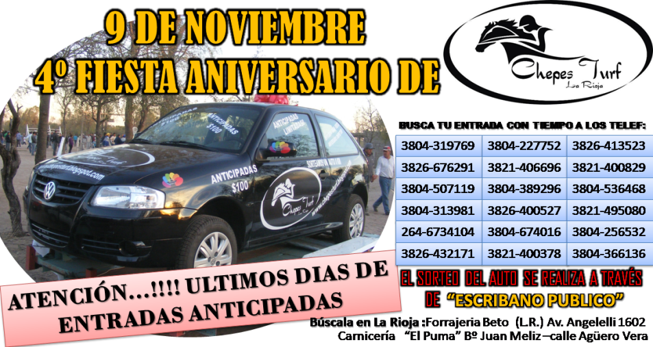placa anticipadas x el  auto