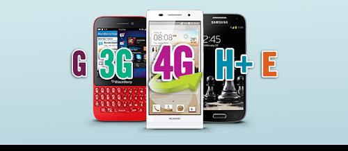 O que significam as siglas dos celulares