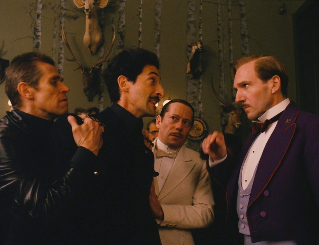 the grand budapest hotel-willem dafoe-adrien brody-mathieu amalric-ralph fiennes