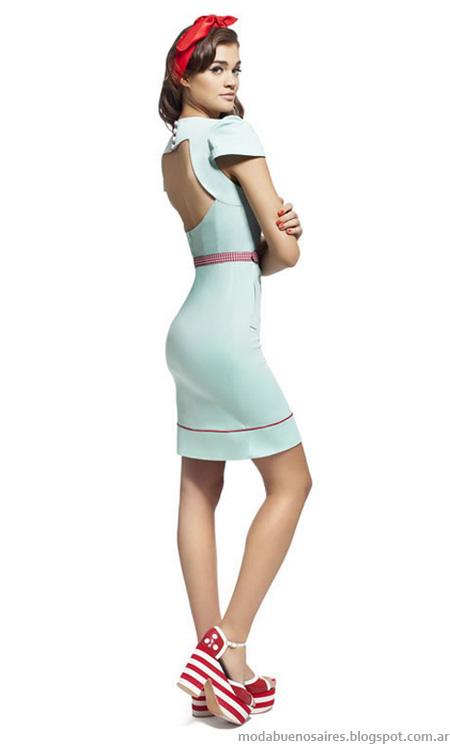 Las Oreiro 2013 vestidos verano 2013 moda argentina.