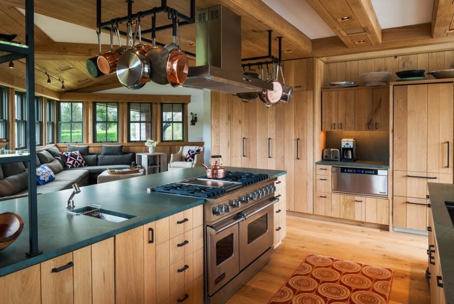10 Maneras de Tener una Cocina Rustica