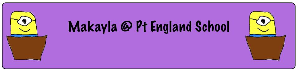 Makayla @ Pt England School