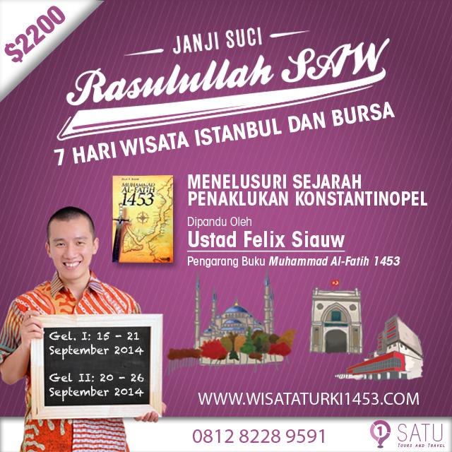 Paket Wisata Murah ke Turki Terbaik dan Terlengkap di Indonesia