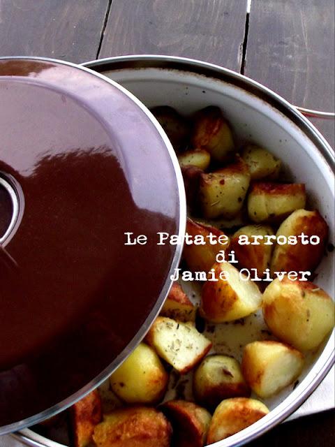 le patate arrosto e il pollo al forno di jamie oliver ...con qualche trucchetto