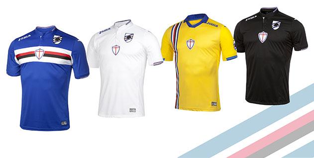 completo calcio Sampdoria portiere