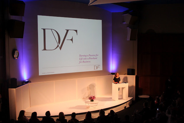 Diane Von Furstenberg at Vogue Festival 2012