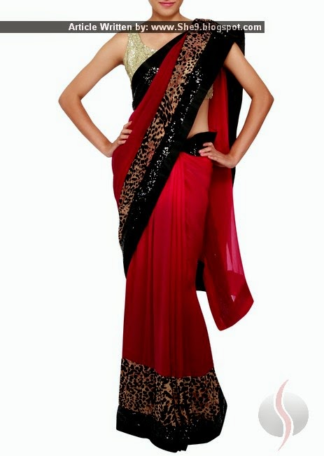 Chiffon Indian Saree Fashion by Kalaki Fashion