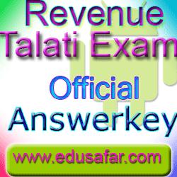 REVENUE TALATI OFFICIAL ANSWERKEY