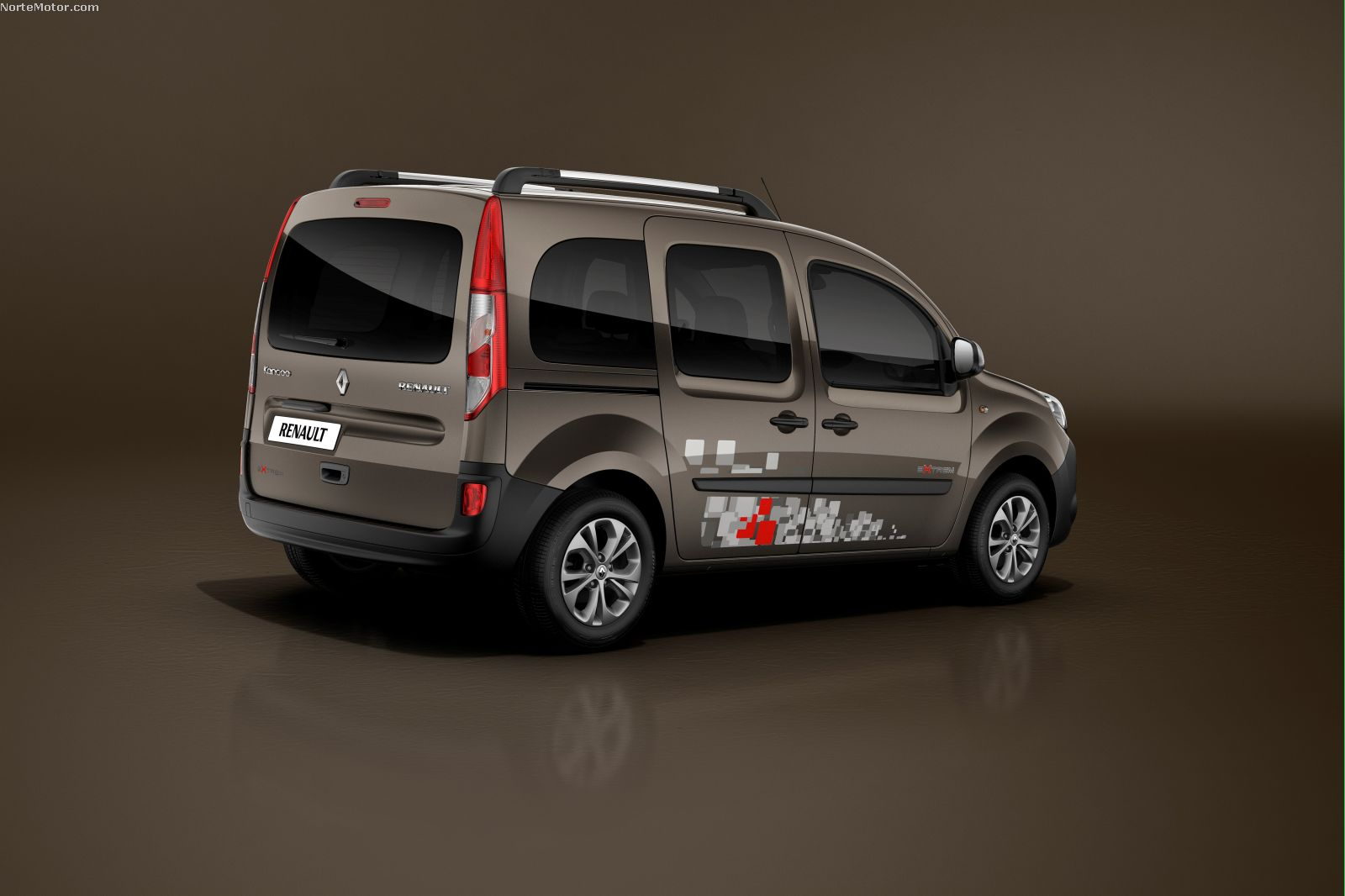 revista coche nuevo renault kangoo 2014. Black Bedroom Furniture Sets. Home Design Ideas