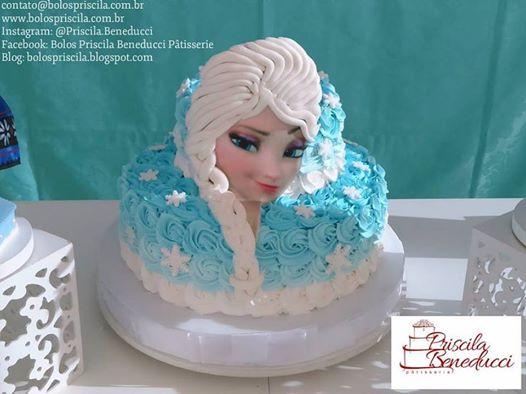 Bolo Frozen Chantilly