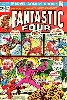 Fantastic Four #140, Annihilus