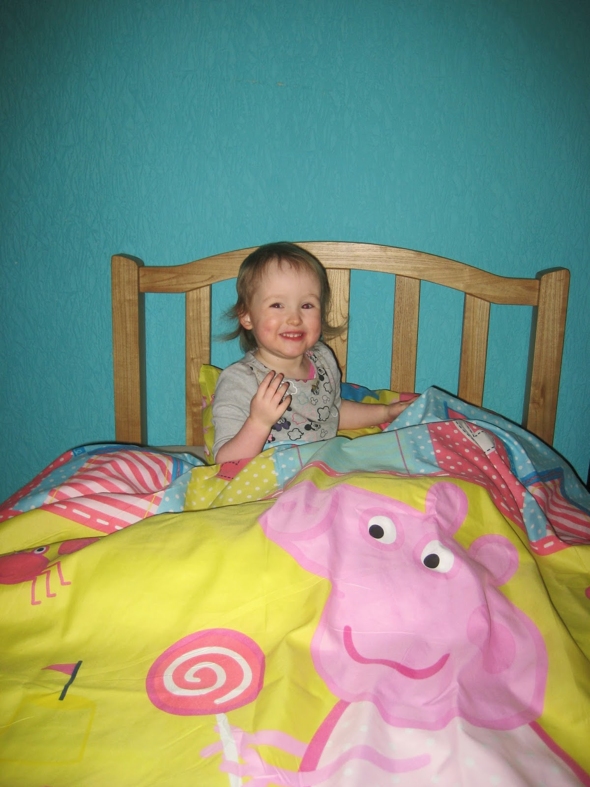 Dropstitch Big Girl In The Big Girl Bed