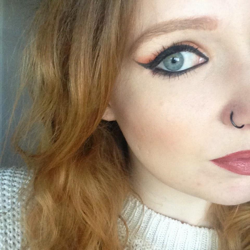Orange Smoky Eye