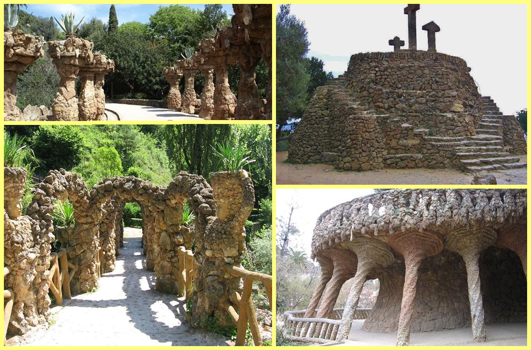 calvario y viaductos Guell