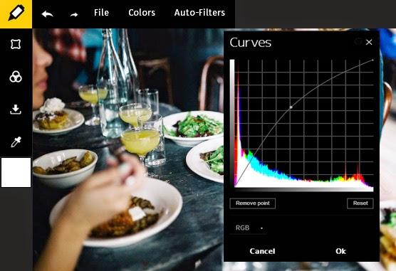 Tips Edit Foto Dengan Tool Curves Online Editor
