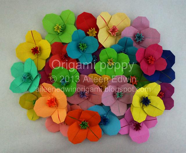 Origami Poppy