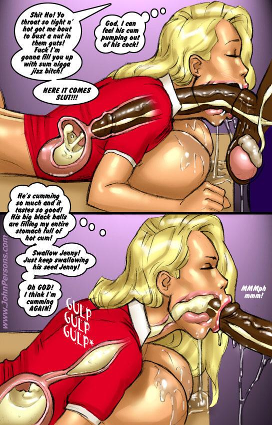 Порно комиксы много спермы