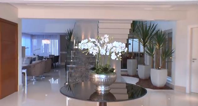 decoracao de interiores de casas de luxo:Construindo Minha Casa Clean: Decoração de uma Casa Moderna