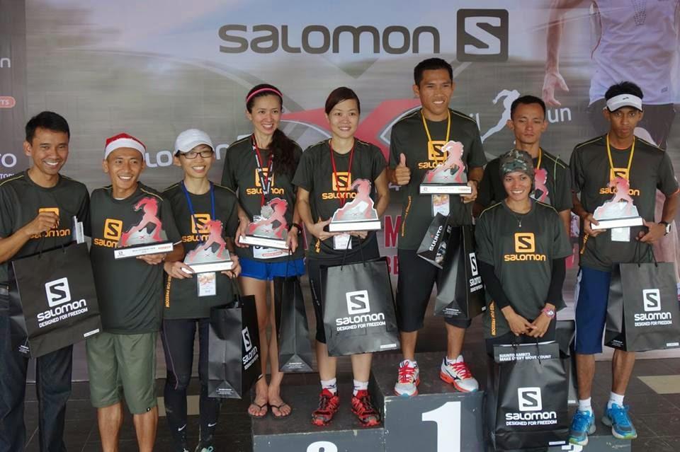 Penonton Salomon X Trail Run 2014 Top 15 Results
