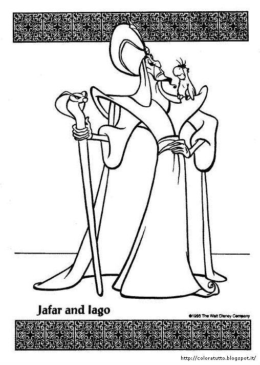 Aladdin Disegno Da Colorare N 8
