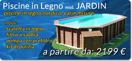 Piscine fuori terra piscine in legno in promozione for Offerte piscine fuori terra