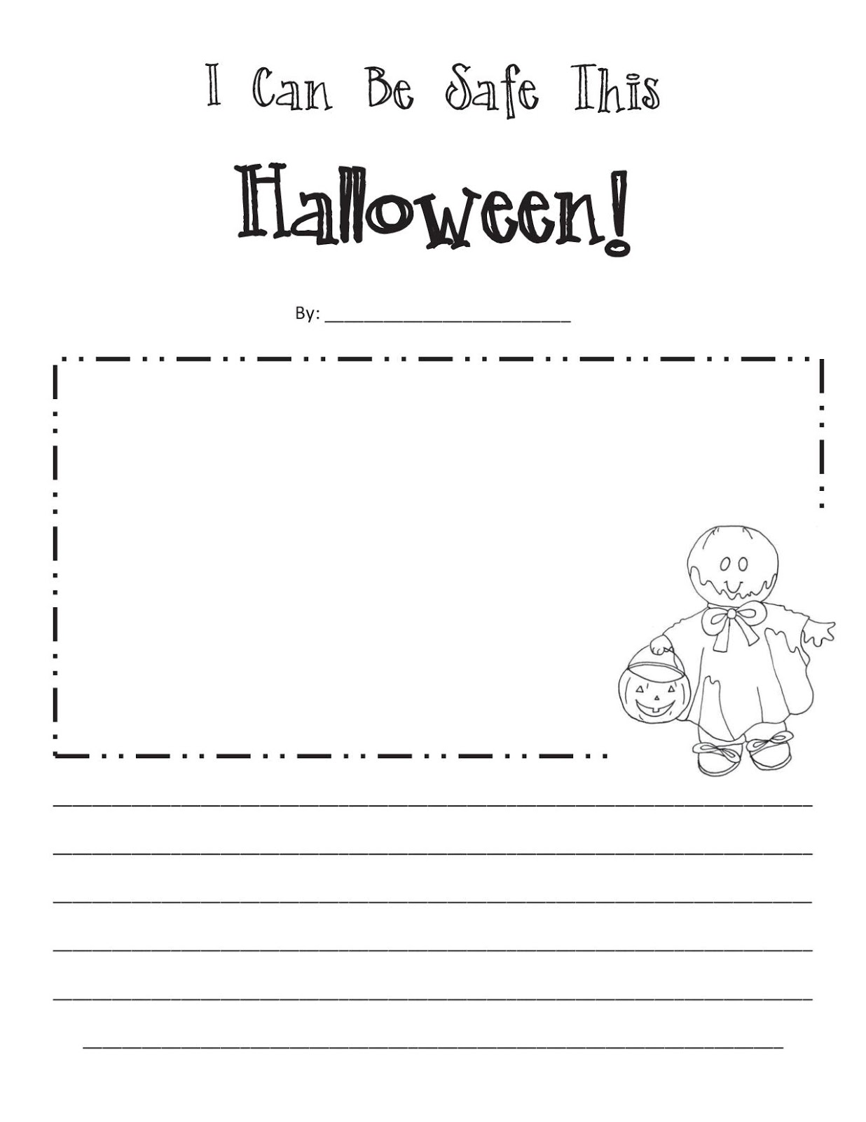 living our dream life halloween safety fhe lesson - Halloween Safety Printables
