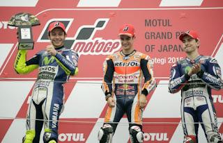 MOTO GP - Pedrosa sorprende en el país nipón donde Rossi aumentó ligeramente la diferencia. Zarco campeón de Moto 2