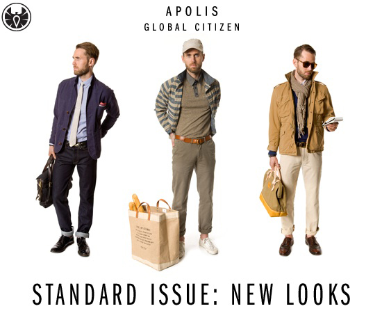 Standard Issue New Look Spring/Summer 2011 - Apolis